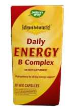 Natures Way Fatigued to Fantastic! Daily Energy B Complex 30 Capsules EX... - $12.19