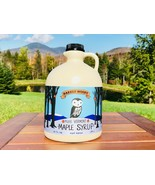 1/2 Gallon 100% Pure Vermont Maple Syrup - Grade A Amber From Barred Woo... - $29.95