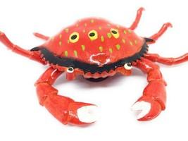 Fussel Tanzende Rot Krabbe Kühlschrank Magnet Küchen Dekor Meer Tiere - $4.56