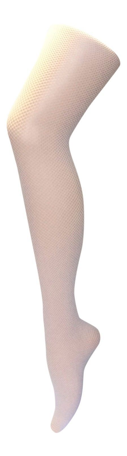 Womens Sexy Bright Dance Neon Colored Fishnet Tights in Black White Pink Orange