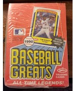 1990 Swell Baseball Greats All Time Legends Cards 1 Box of 36 count - $25.73