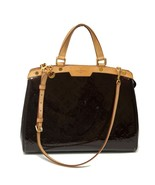 Authentic LOUIS VUITTON Amarante Monogram Vernis Leather Brea GM Shoulde... - $1,290.99