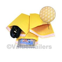 "500 #000 4x8 "" Valuemailers Brand "" Kraft Bubble Mailers Padded Envelope... - $37.95"
