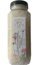 Bath & Body Works SERENITY Bath Soak Salt Salts 17 oz Jar Marigold Rose ... - $23.36