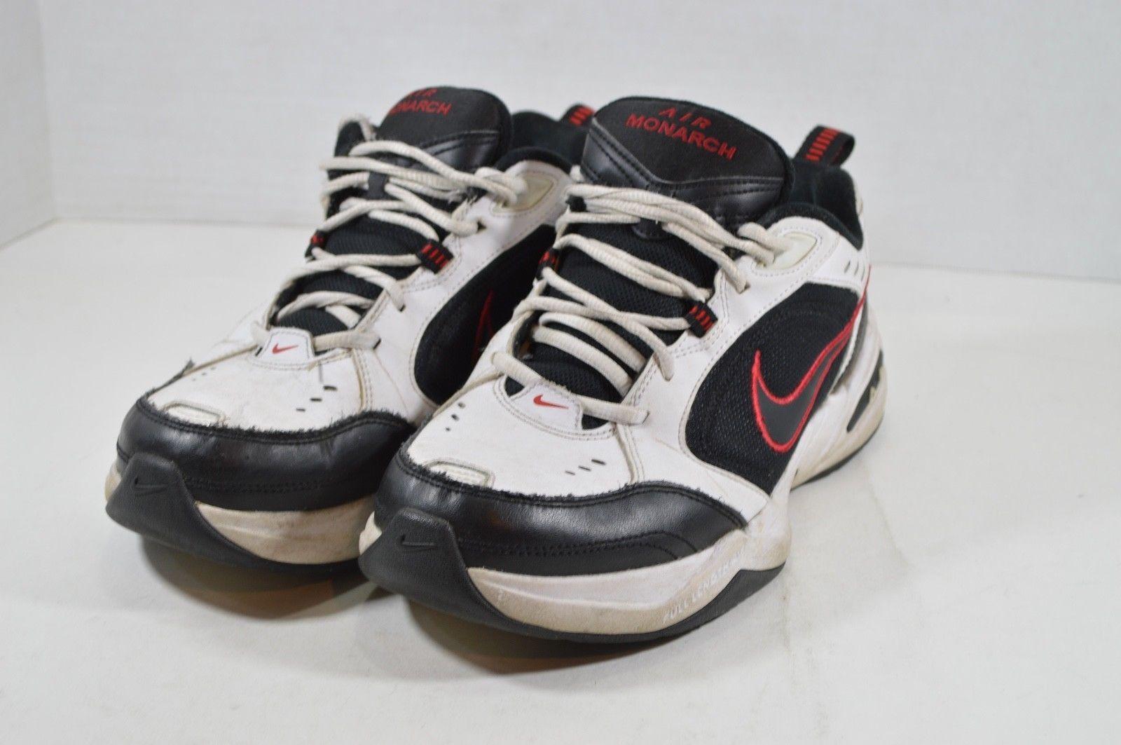 buy online f8c37 8ea9b Nike Hombre 7 Aire Monarch Informal Deportivo Papá Zapatos para Andar White  Rojo