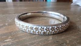 Brighton Bangle Enamel Bracelet 2 3/8 inch inner diameter - $23.76