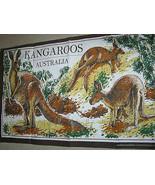 Kangaroos Australia Tea Towel Creative Products - $11.70