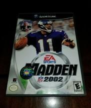 Madden NFL 2002 Nintendo GameCube VGEX **Inv02947** - $5.40