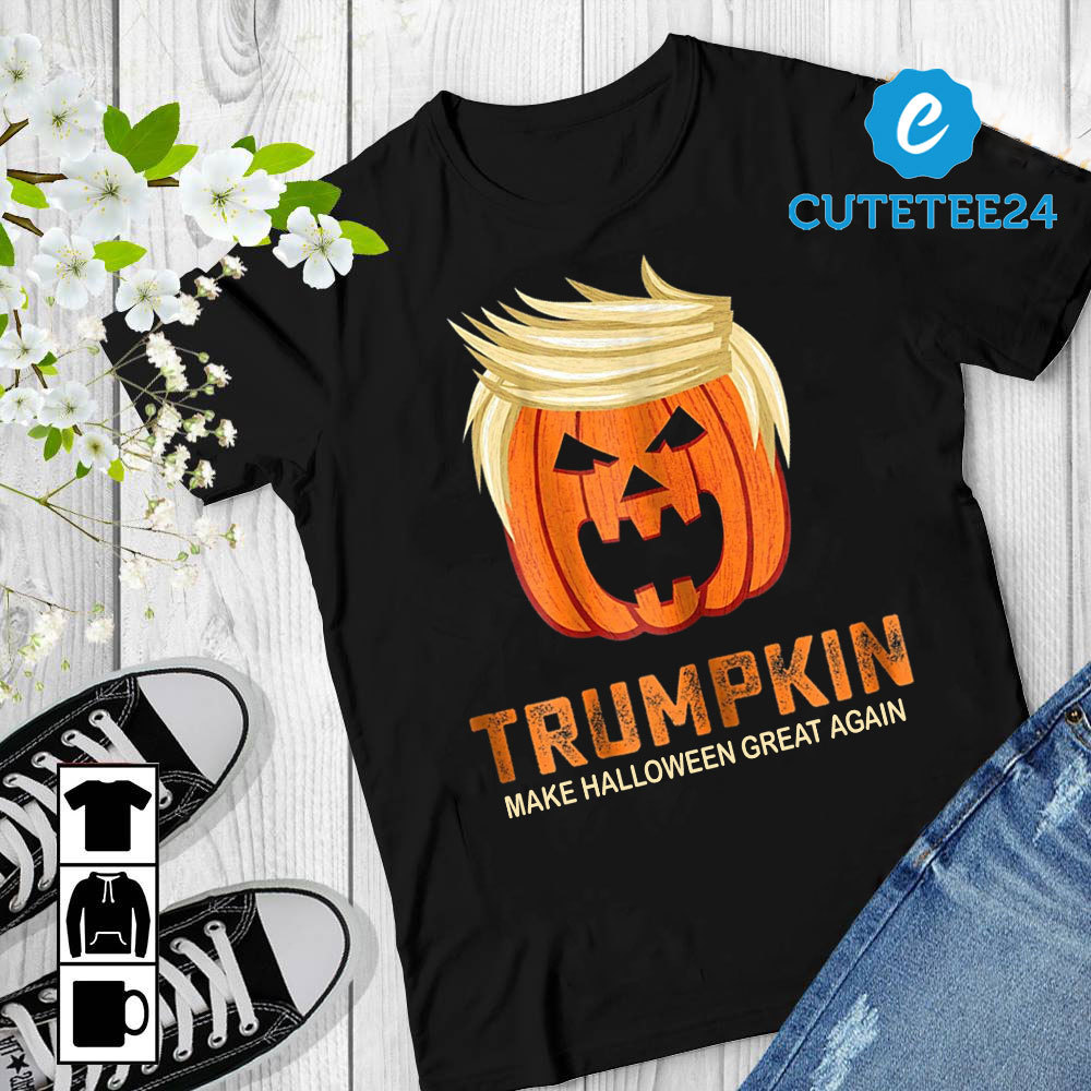 Primary image for Trumpkin Make Halloween Great Again, Funny Pumpkin Trumpkin For Halloween