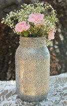 Sparkly Mason Jars Glitter Mason Jar DIY for Wedding Party Gifts - $19.99