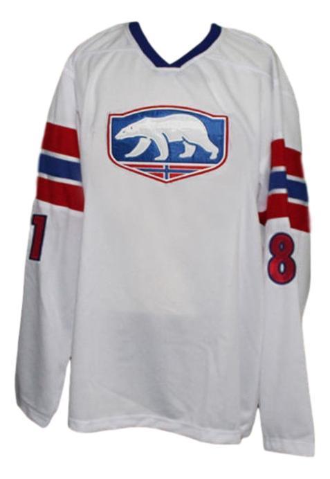 Team norway hockey jersey white   1