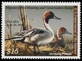 RW75, $15.00 Duck Stamp VF OG NH - LOW PRICE! - Stuart Katz - $23.75
