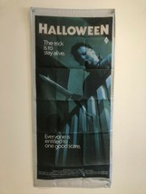 HALLOWEEN Vintage Style Movie Poster Flag Banner Fabric Wall Tapestry - $24.14