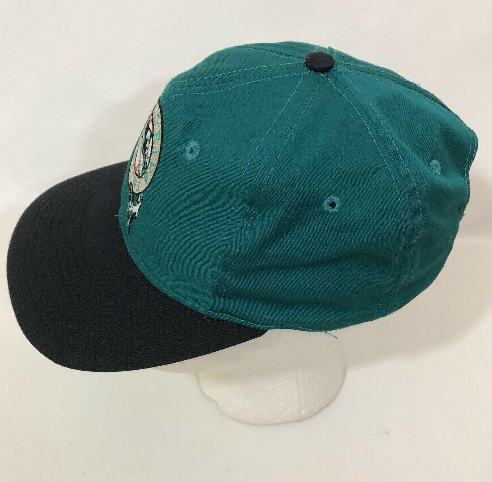 Vintage Florida Marlins MLB Baseball Snapback Hat