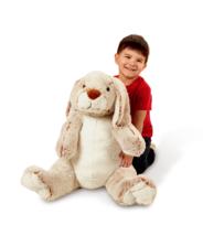Melissa and Doug Jumbo Burrow Bunny Stuffed Plush Animal - $44.99