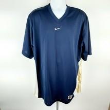 Nike Hoops Men's Basketball Jersey Shirt Size 2XL Blue D312 - $12.37