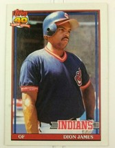 Topps Baseball Card Dion James Cleveland Indians 40 Years Of Baseball #1... - $12.00