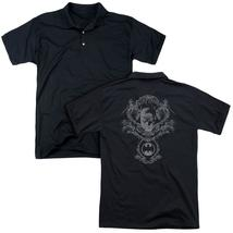 Batman - Dark Knight Heraldry (Back Print) Mens Regular Fit Polo - $24.99+