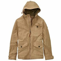 $178 Timberland A1K5G Mens Mt. Cardigan Waterproof Cruiser Jacket, Khaki... - $83.17