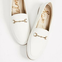 Sam Edelman NWT Loraine Patent Leather Loafers White Size US8.5 - $68.00