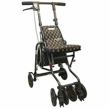 Shima Works Sunny Walker Aw-III B Brown Maximum Weight 80kg Silver Car w... - $117.76