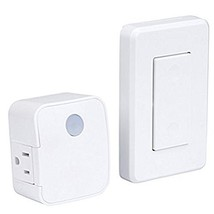 Westek RFK1600LC Indoor Wireless Switch, Single Outlet, White - $18.09