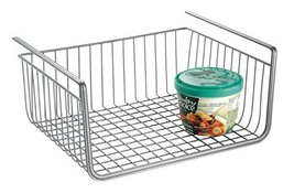 InterDesign York Lyra Pantry Under Shelf Organizer Basket – Extra Kitche... - $11.36