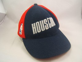 Houston Rockets Nike Hat Red Blue NBA Basketball 7 1/8 - 7 3/8 Fitted Cap - $22.68