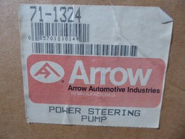71-1324 GM Power Steering Pump Remanufactured By Arrow Buick 1986-1988 image 2