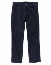 Gymboree boys Corduroy Straight Fit Navy Blue Pants   7 slim fit - $22.99