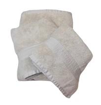 Ralph Lauren Bowery Wash Cloth Rag Face Towel Court Light Gray Grey 13 x... - $7.79