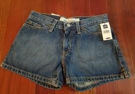 GAP Womens Shorts Denim Blue Jean NEW NWT Medium Wash Size 1 - $14.84