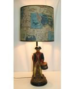 Plasto Mfg Co Lamp 1960 Revolutionary War Soldier - $108.89