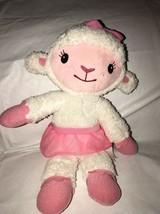 Hearts A Glow Lambie Talking Singing Animated Disney Doc Mc Stuffins Lamb Plush - $12.86