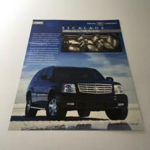 2003 Cadillac Escalade Break Through SUV Specifications Models - $12.30