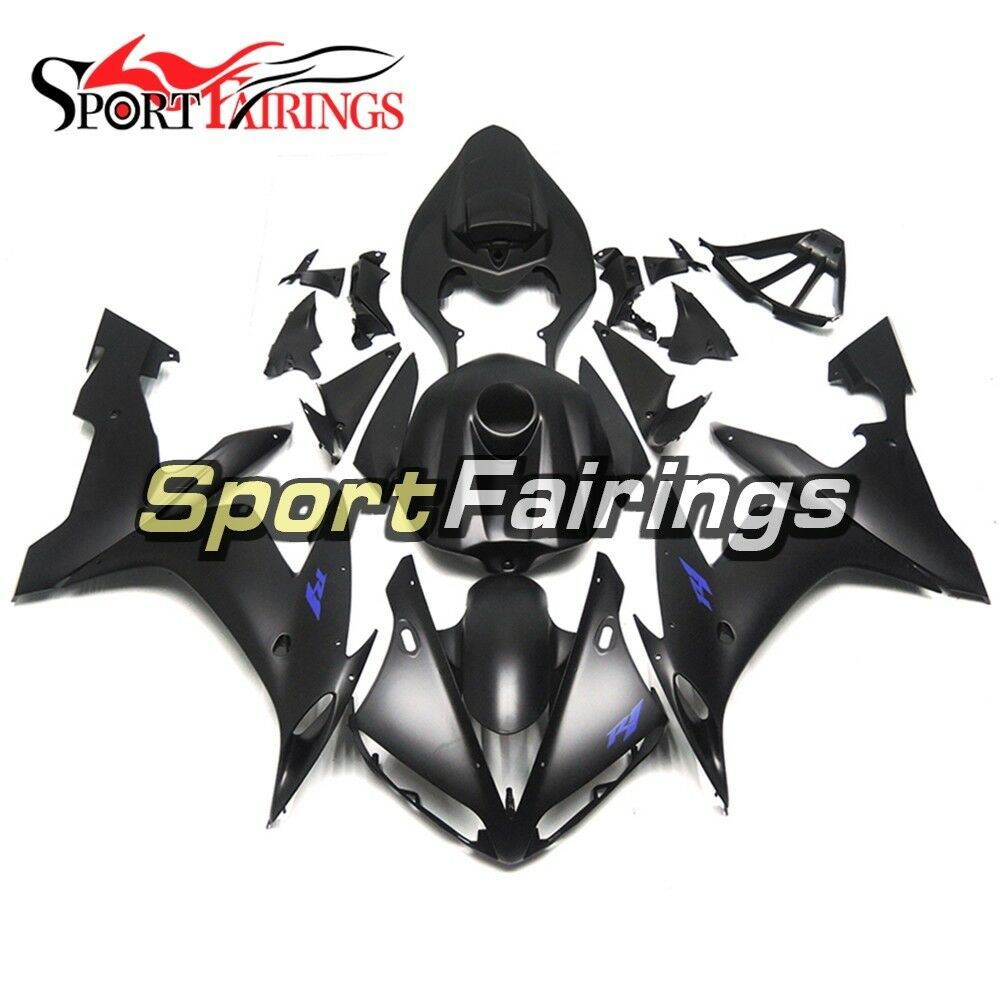 Flat Black Body Frames For Yamaha YZF1000 R1 2004 2005 2006 Injection Fairings - $494.10