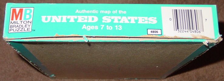Puzzle Map Of The United States 1975 Milton and 44 similar items