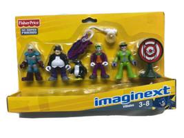 imaginext DC Super Friends Batman 2012 Villains Penguin Joker Riddler Mr... - $64.35