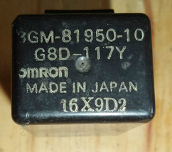 '93 92 91 FZR1000 Fzr 1000 Relay G8D-117Y Omron For Yamaha - Vgc! - $33.76