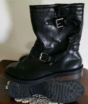 White Mountain Brand ~ Women's Size 7M ~ Black ~ Foe ~ Side Zipper Mid C... - £19.42 GBP