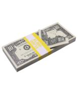 $1,000 1990 Style $10 Full Print Bills Prop Money Stack - $13.99