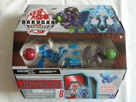 Bakugan Armored Alliance Nillious Ultra with Baku-Gear & Hydorous Pack, 4-Pack  - $28.85