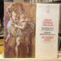 [CLASSICAL]~NM LP~VAUGHAN WILLIAMS~Symphony No 4~Norfolk Rhapsody No 1~{... - $3.95