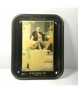 "Vintage Coca Cola Norman Rockwell ""My Old Kentucky Home"" Tin Tray Ad- 13... - $23.70"