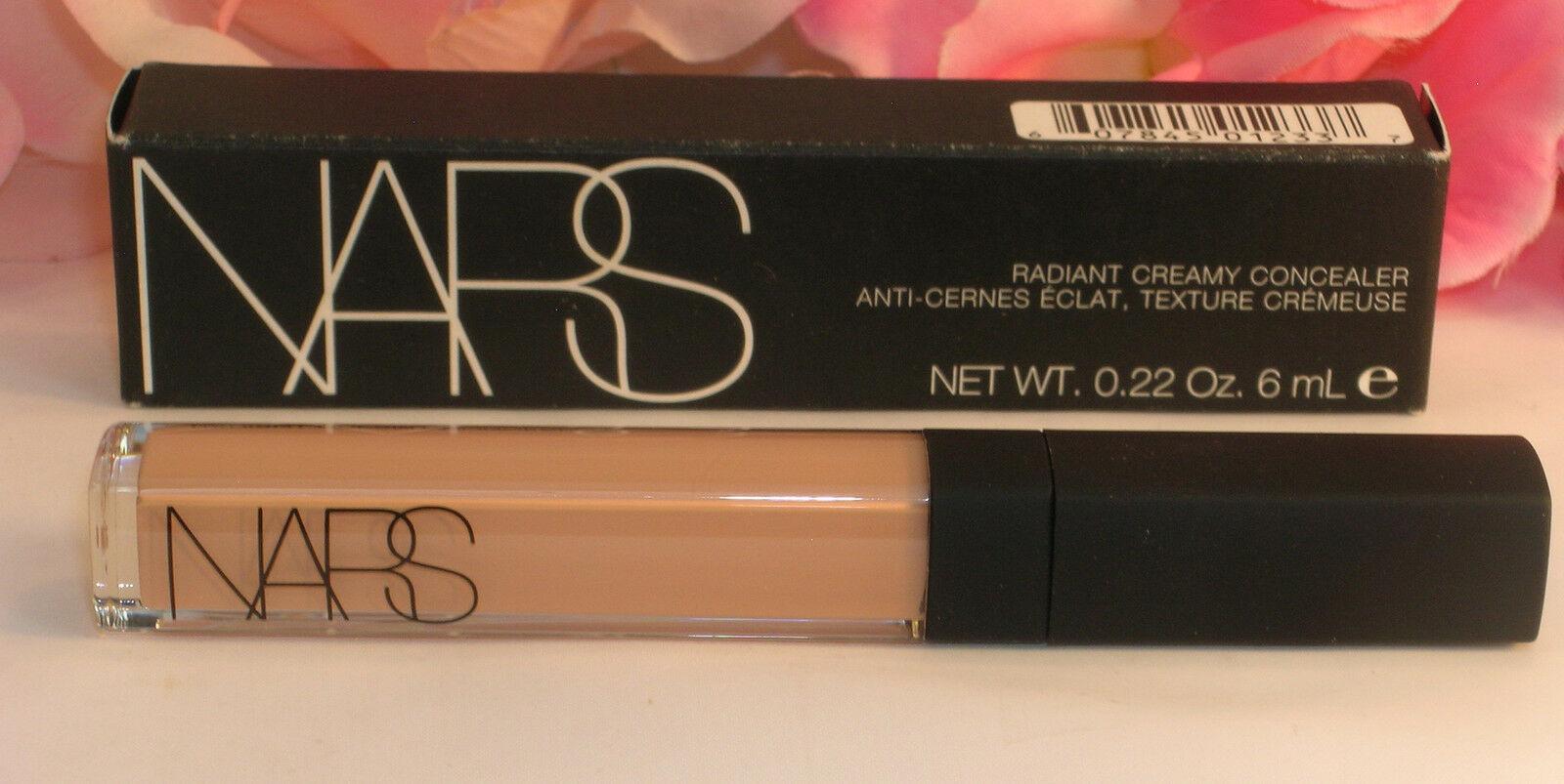New NARS Radiant Cream Concealer Light 3 Honey # 1233  .22 oz / 6 ml Full Size - $19.99