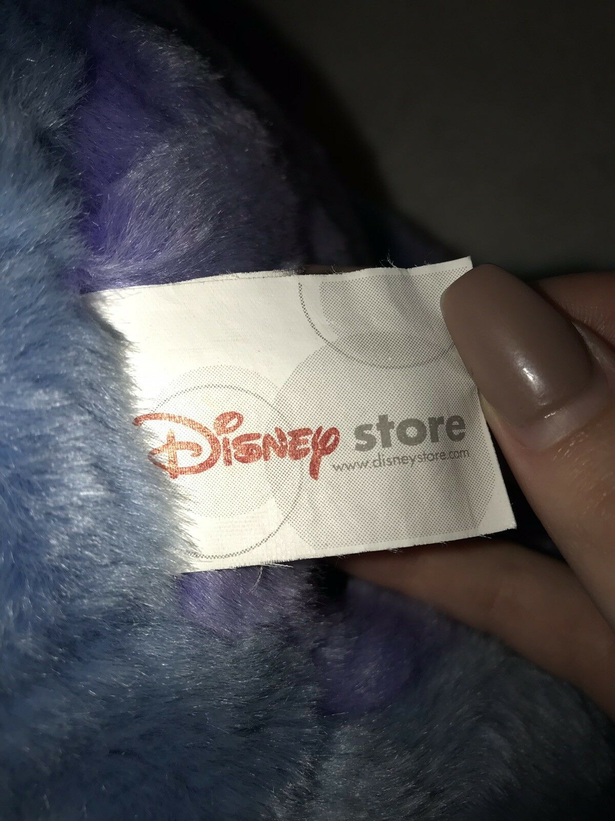 "Disney Store original Eeyore Removable Detachable Tail Stuffed Plush Doll 14"""