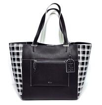 Lauren Ralph Lauren Paley Lauryn Bag-in-Bag Tote Black Window Panel MSRP... - $70.00