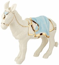 Lenox First Blessing Nativity Donkey Figurine Standing Porcelain NEW - $197.11