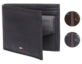 Tommy Hilfiger Men's Premium Coin Pouch Credit Card ID Wallet & Valet 31TL25X020 image 1