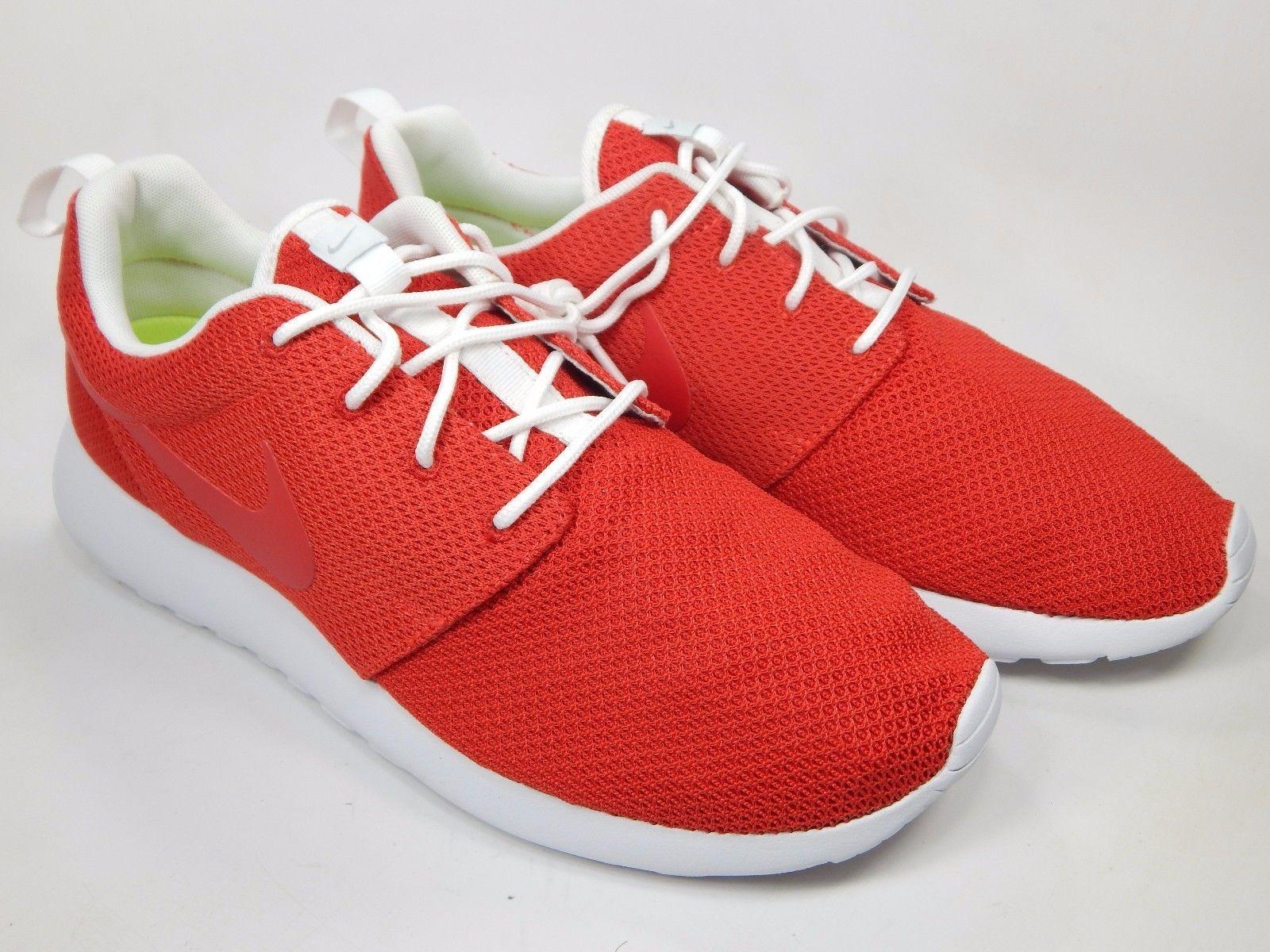 Nike Rosherun iD Bright Red Men's Running Shoes Size 11 M (D) EU 45 616834-993